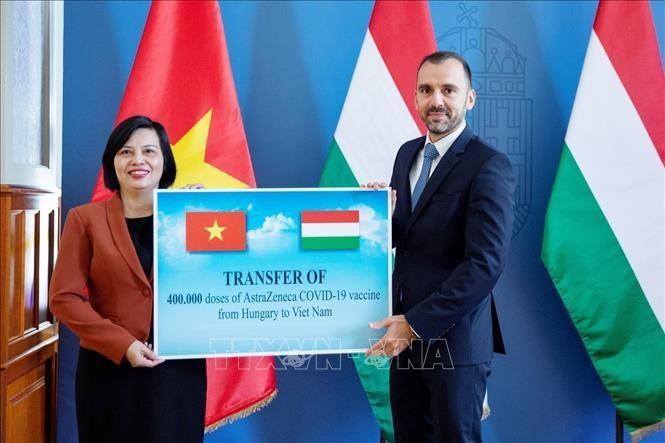Kroasia dan Hongaria Memberikan Bantuan Vaksin kepada Vietnam Menanggulangi COVID-19 - ảnh 1