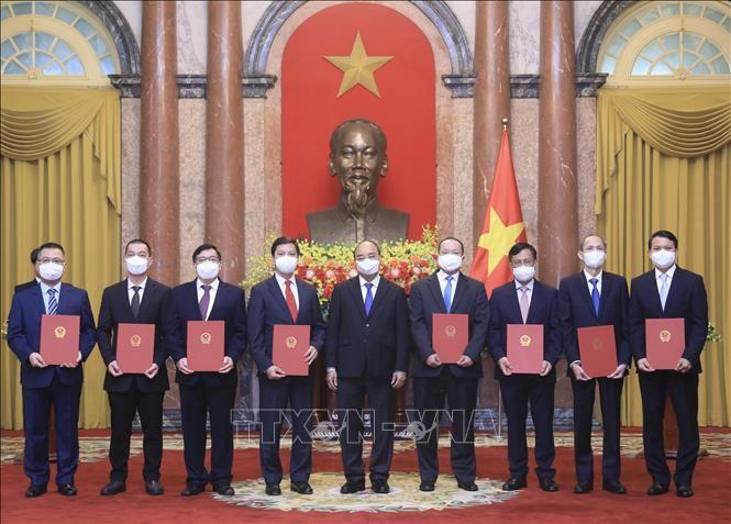 "Para Duta Besar dan Kepala Kantor Perwakilan Vietnam di Luar Negeri Kembangkan Tradisi ""Diplomasi yang Tulus Dari Hati ke Hati"" - ảnh 1"