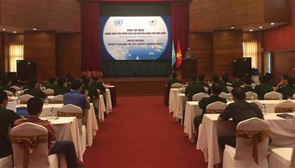 越南提高参与联合国维和行动能力 - ảnh 1