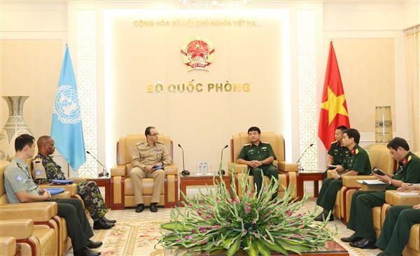 越南高度评价联合国维和行动 - ảnh 1