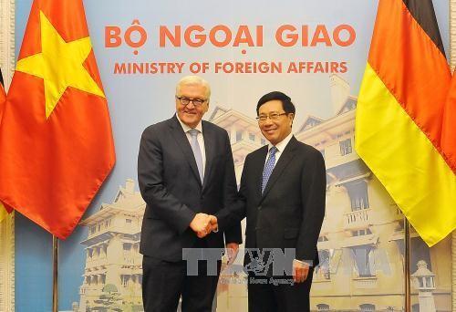 越南和德国在国际组织和多边论坛上互相支持 - ảnh 1