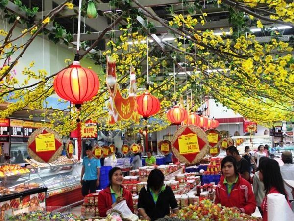 越南各家超市推出春节优惠活动 - ảnh 1