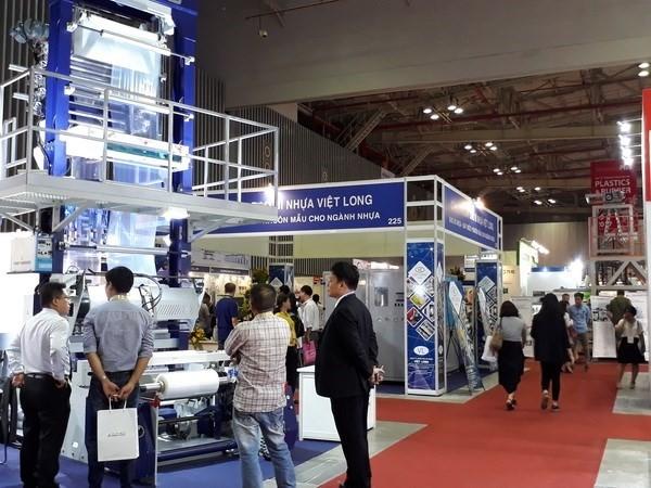 2017年越南国际橡塑工业展在胡志明市举行 - ảnh 1