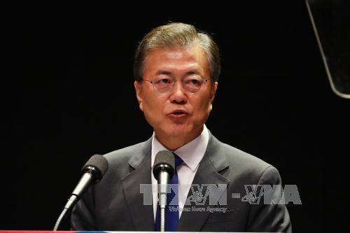 韩国呼吁国际社会配合缓和朝鲜半岛紧张 - ảnh 1