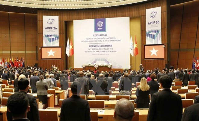 APPF 26年会:讨论政治安全与经济贸易内容 - ảnh 1