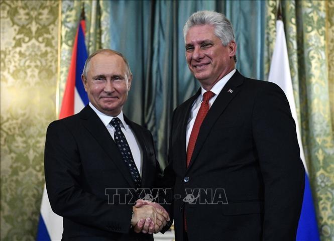 古巴和俄罗斯谴责美国的单方面制裁 - ảnh 1