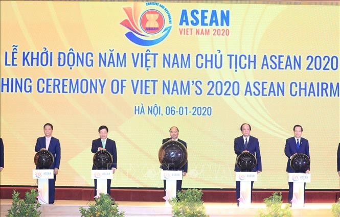 2020东盟主席年启动仪式举行 - ảnh 1