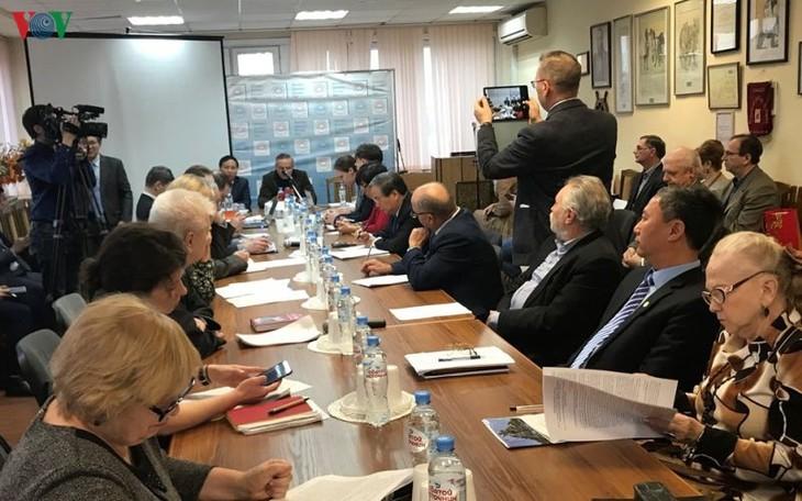 """""""俄越70年合作""""研讨会在俄罗斯举行 - ảnh 1"""