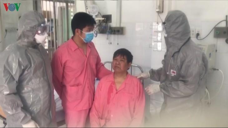 大水镬医院治疗中国新冠肺炎患者的故事 - ảnh 1