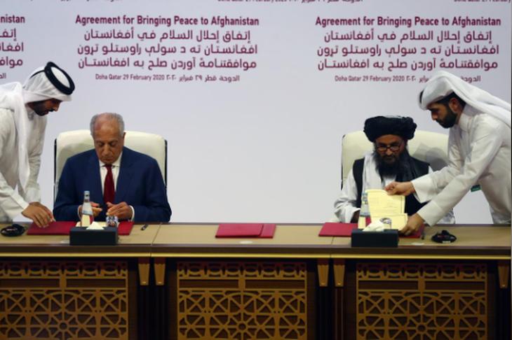 美国-塔利班和平协议:艰难的和平之路 - ảnh 2