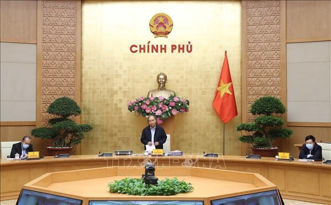 越南政府总理主持召开政府常务委员会关于疫情防控工作的会议 - ảnh 1
