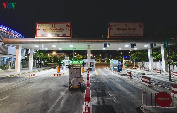 新冠肺炎疫情期间活跃的岘港变得十分沉寂 - ảnh 15