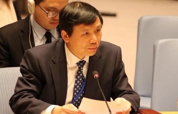 越南呼吁加强青年、和平与安全领域的国际合作 - ảnh 1