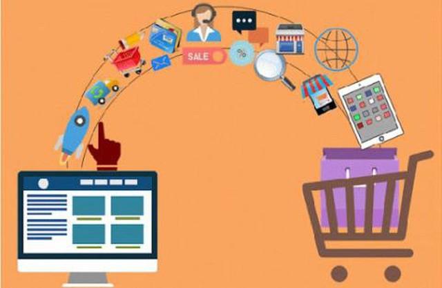 2025年越南55%的人口参与电子商务 - ảnh 1