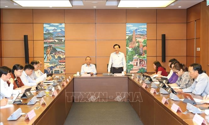 越南国会讨论经济社会问题 - ảnh 1