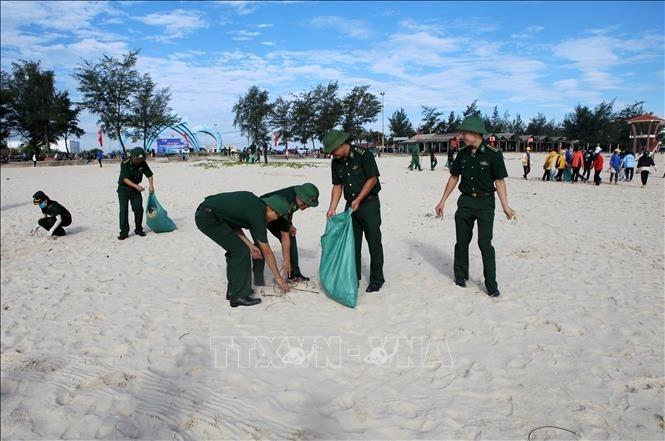 越南海洋岛屿周和世界海洋日响应活动举行 - ảnh 1