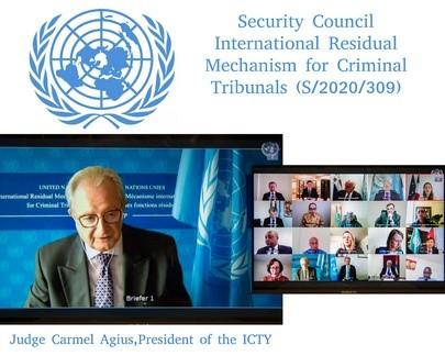 联合国安理会讨论国际法庭的起诉审判问题 - ảnh 1
