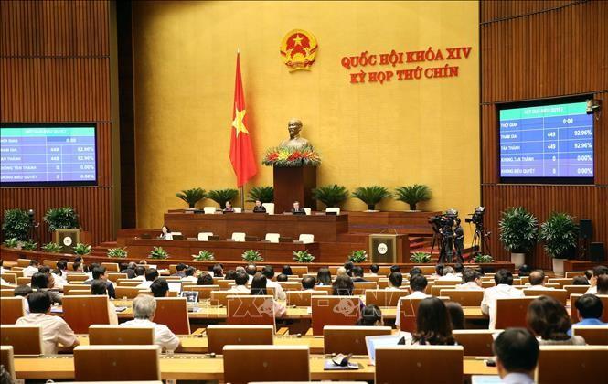 越南第14届国会第9次会议进入最后一周 - ảnh 1