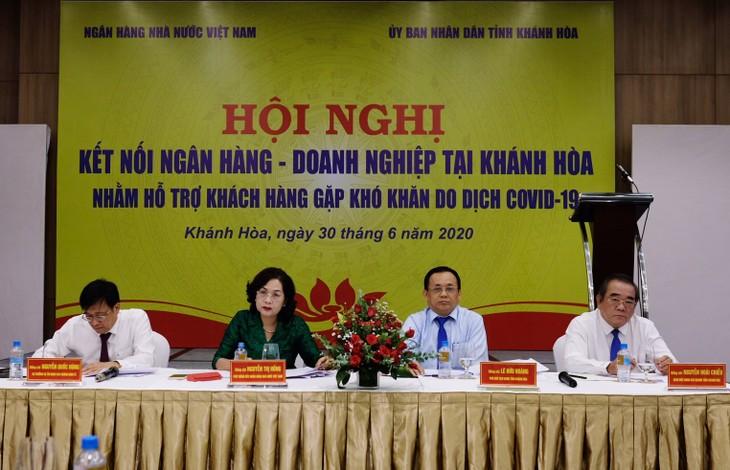 越南国家银行为企业解决资金困难 - ảnh 1