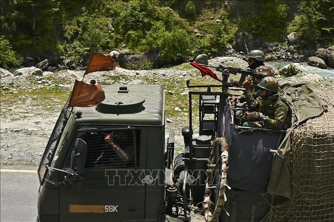 印度和中国同意不在LAC地区开展巡逻 - ảnh 1