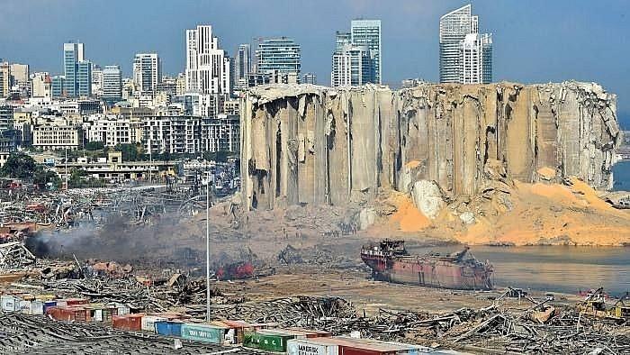 剧烈爆炸后黎巴嫩深陷危机 - ảnh 2