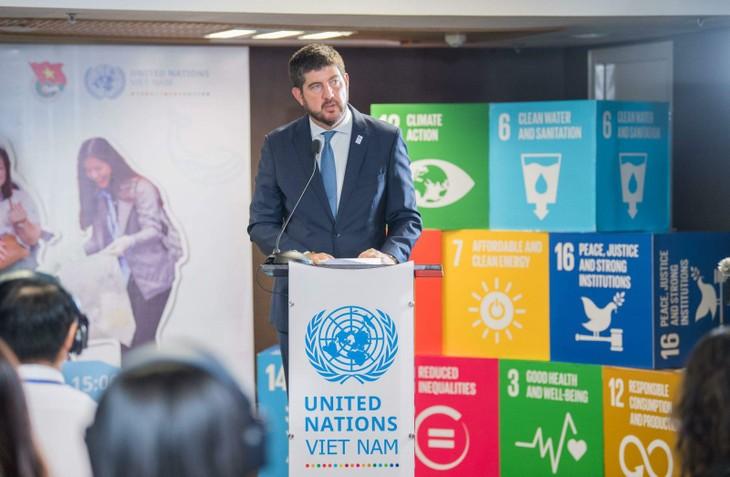 2020年国际青年日:为美好的未来而行动 - ảnh 1