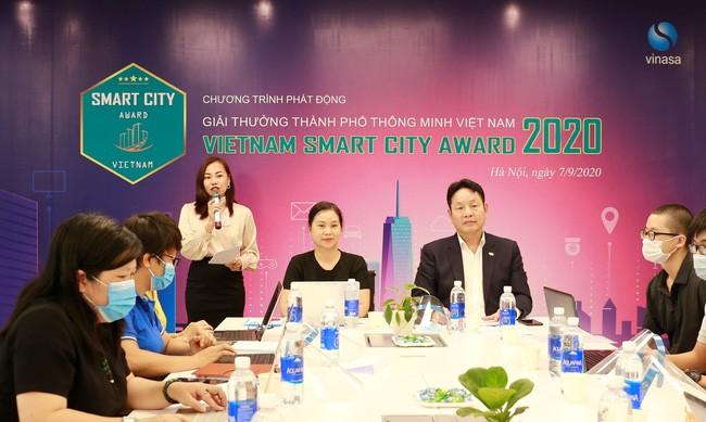 2020年越南智慧城市奖启动仪式 - ảnh 1