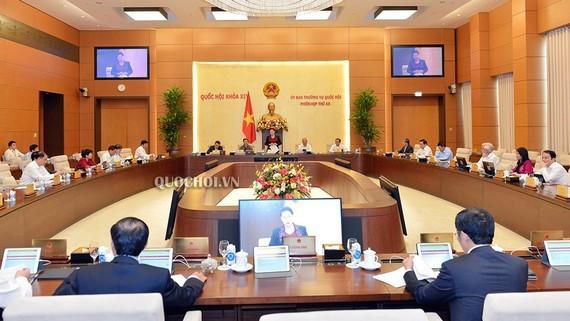 越南国会常委会第49次会议开幕 - ảnh 1