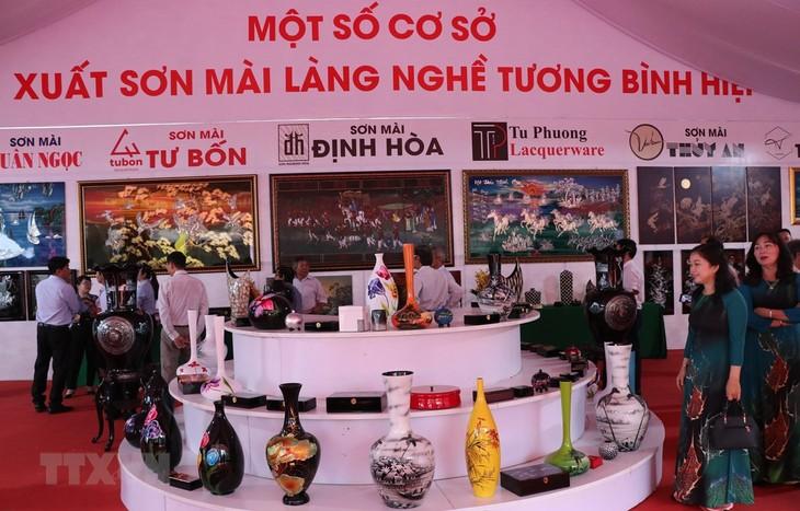 """打造和推广 """"越南磨漆艺术""""国家品牌 - ảnh 1"""