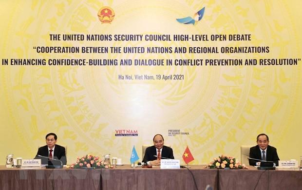 越南——可持续和平的伙伴 - ảnh 1