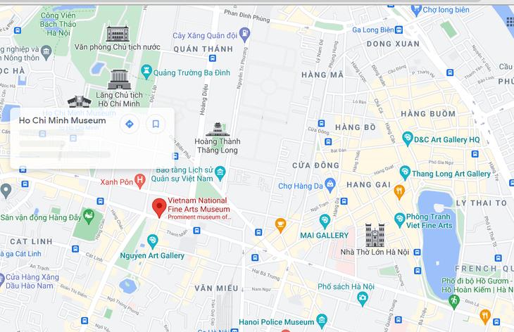 越南美术博物馆推出iMseum VFA多媒体应用 - ảnh 1
