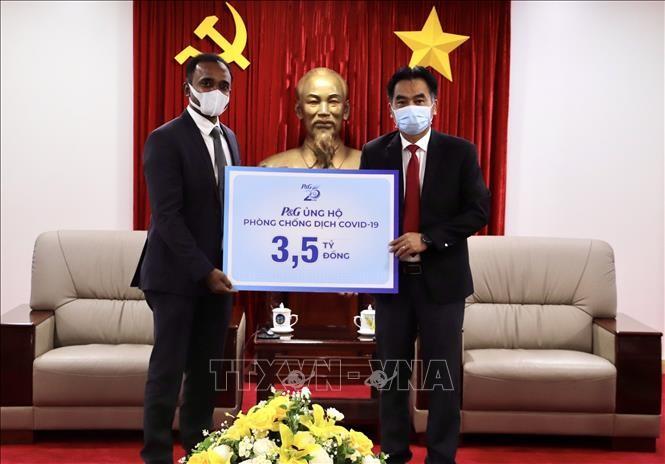 外资企业助力越南防疫 - ảnh 1