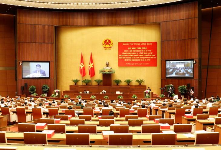 胡志明主席的思想道德和作风是越南民族的无价之宝 - ảnh 1