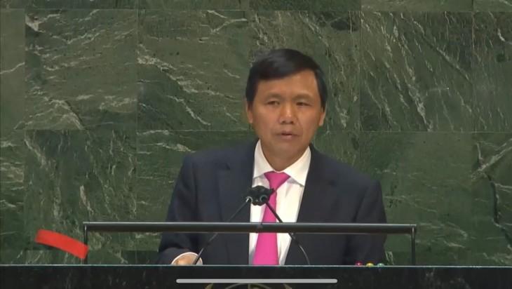 越南投票支持联合国大会关于呼吁美国解除对古巴禁运及经济制裁的决议 - ảnh 1
