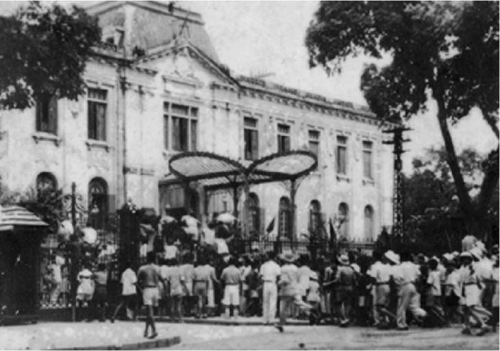 1945 年八月革命是在越南共产党的英明领导下凝聚人民力量的范例 - ảnh 1