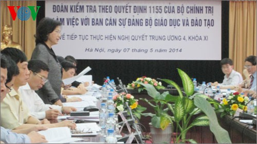 Response to Party resolution on Party building under discussion  - ảnh 1