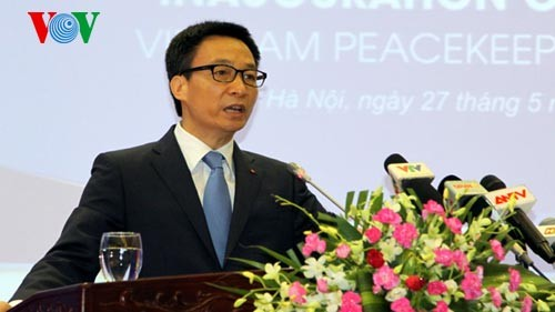 Deputy PM Vu Duc Dam: Vietnam will do its best to contribute to UN peacekeeping mission - ảnh 1