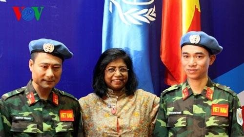 Deputy PM Vu Duc Dam: Vietnam will do its best to contribute to UN peacekeeping mission - ảnh 2