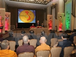 Party chief talks with overseas Vietnamese in US  - ảnh 1