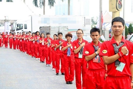 """Blood donation """"Red Journey"""" campaign held in Ly Son  - ảnh 1"""