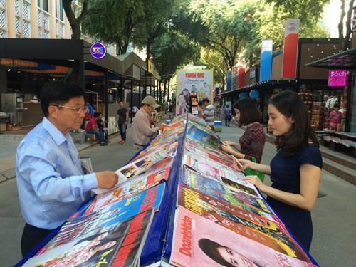 Spring Newspaper Festival 2016 opens in HCMC - ảnh 1