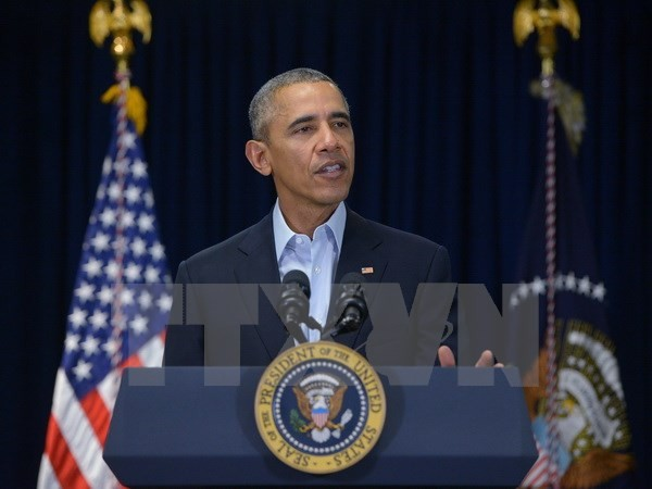 US President calls for steps to reduce East Sea tension - ảnh 1