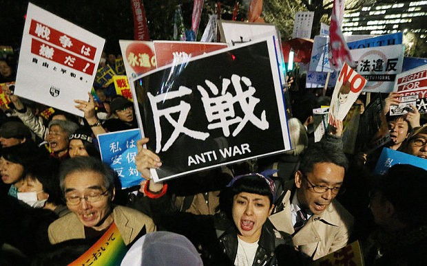 Japan's new security law comes into force - ảnh 1