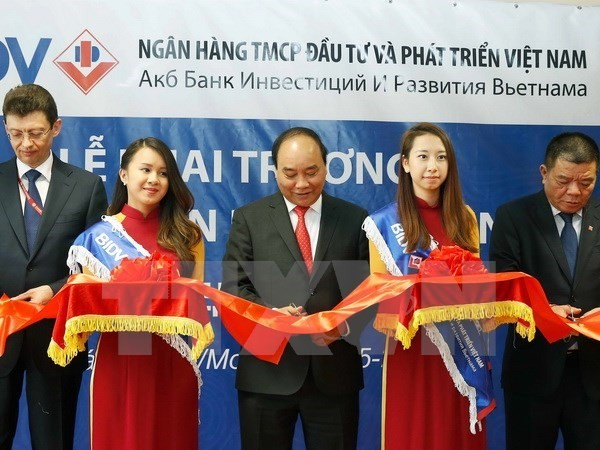 Prime Minister Nguyen Xuan Phuc attends Vietnam-Russia business forum - ảnh 1