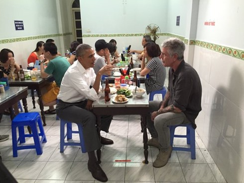 Day one: US President Barack Obama's visit to Vietnam  - ảnh 11