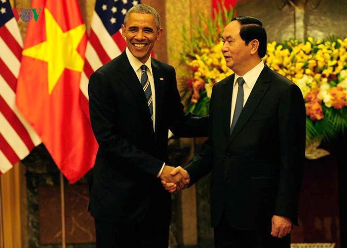 Day one: US President Barack Obama's visit to Vietnam  - ảnh 3