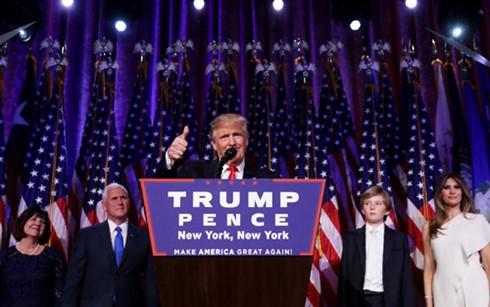 US greets its 45th President - ảnh 1
