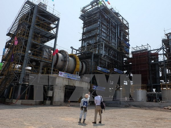 First industrial waste power generation plant inaugurated - ảnh 1