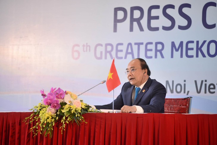 GMS-6 Summit closes with approval of Hanoi Action Plan - ảnh 1