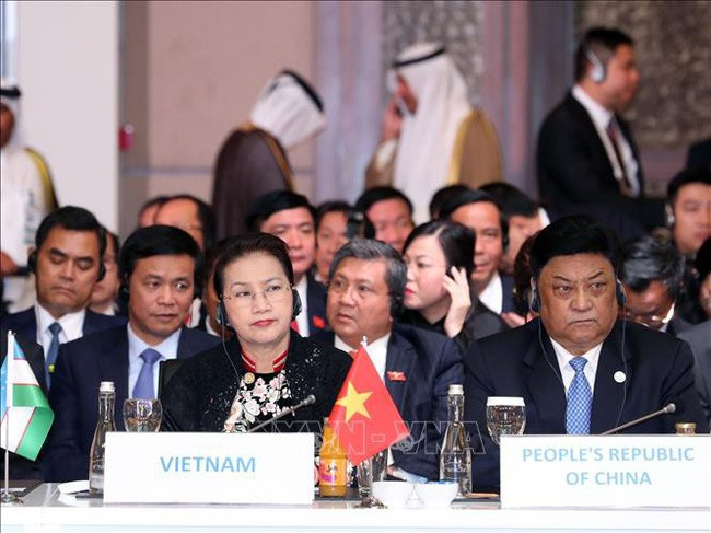 NA Chairwoman reiterates Vietnam's active, responsible participation in parliamentary diplomacy - ảnh 1